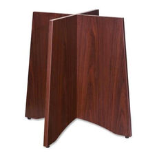 Lorell Wood Base -for Table Tops -24