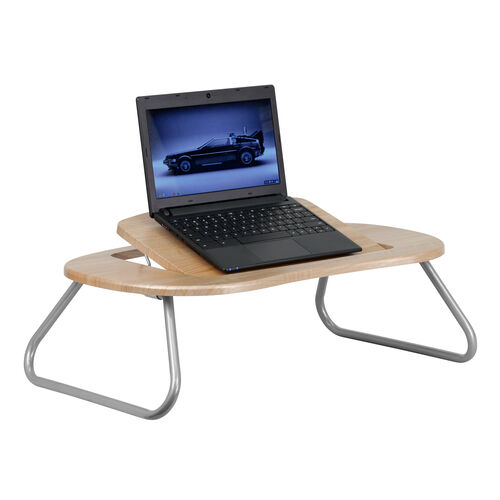 Our Natural Angle Adjustable Laptop Desk with Foldable Legs is on sale now.
