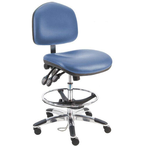 Our Premium HD Cleanroom Class 100 Vinyl Chair - Aluminum Base is on sale now.