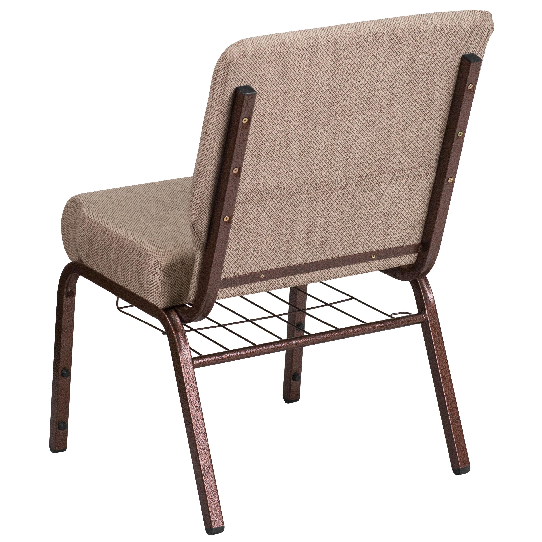 Beige Fabric Church Chair FD CH0221 4 CV BGE1 BAS GG   ChurchChairs4Less.com