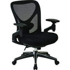 Pro-Line II ProGrid Mesh Back Managers Chair with Mesh Seat and Pivoting Arms