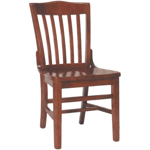 Our 2996 Side Chair with Slat Back & Wood Saddle Seat is on sale now.