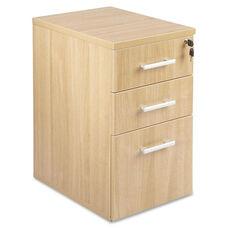Lorell Underdesk Box /Box /File - Latte