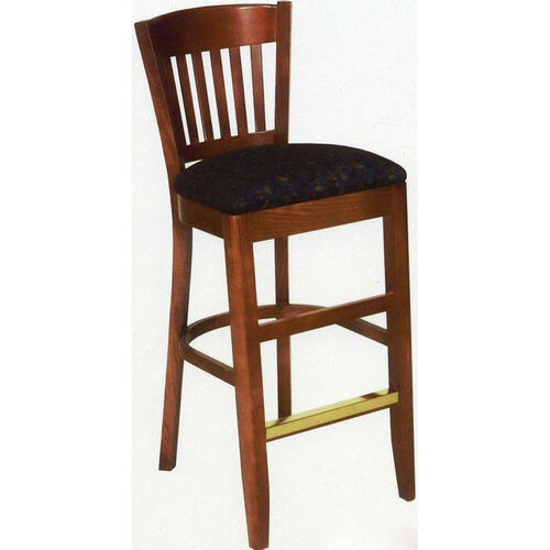 1918 Bar Stool w/ Upholstered Seat - Grade 1