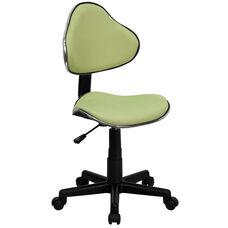 Avocado Fabric Ergonomic Swivel Task Chair