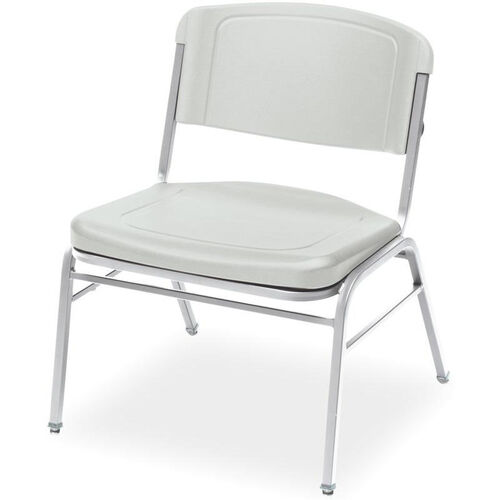 Our Rough N Ready 350 lb. Capacity Big & Tall Stack Chair - Set of Four - Platinum is on sale now.