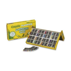 Crayola Crayons -Double wrapped -Nonto x ic -25 ea 16 Colors -400/PK -Asst.