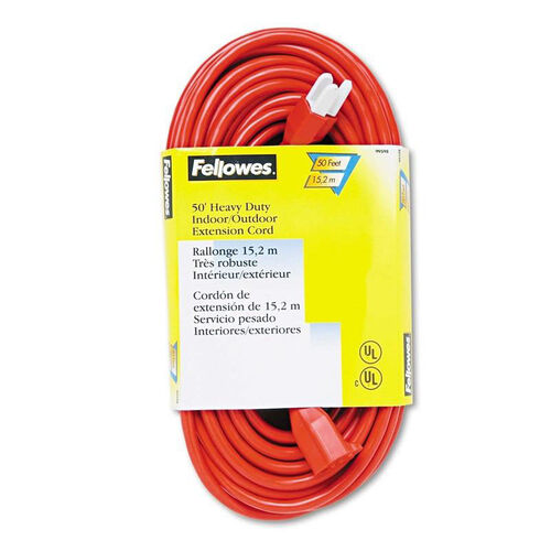 Our FellowesR Indoor Outdoor Heavy Duty 3 Prong Plug Extension Cord