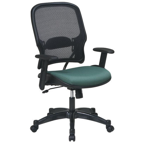 Our Space 1587C Professional Air Grid Back Managers Chair with Fabric Seat and Adjustable Arms is on sale now.