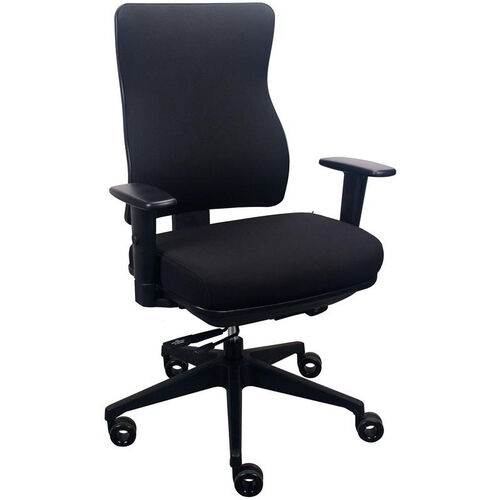 Tempur-Pedic® Spring Task Chair with Fabric Back - Eclipse
