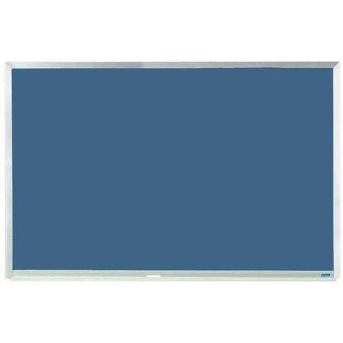 Blue Porcelain Chalkboard with Aluminum Frame - 24
