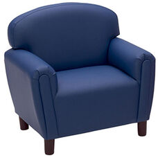 Just Like Home Enviro-Child Preschool Size Chair - Deep Blue - 26