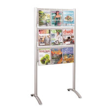 Safco Magazine Rack - Floor Stand 9 Pock - 31 3/4