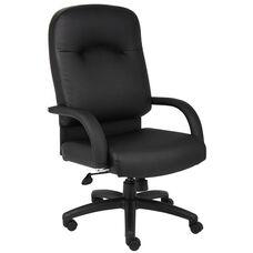 High Back Caressoft™ Executive Task Chair - Black