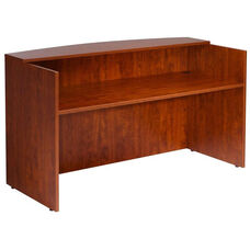 Reception Desk Shell - Cherry
