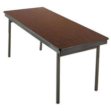 Customizable 700 Series Multi Purpose Rectangular Deluxe Hotel Banquet/Training Table with Plywood Core Top - 36