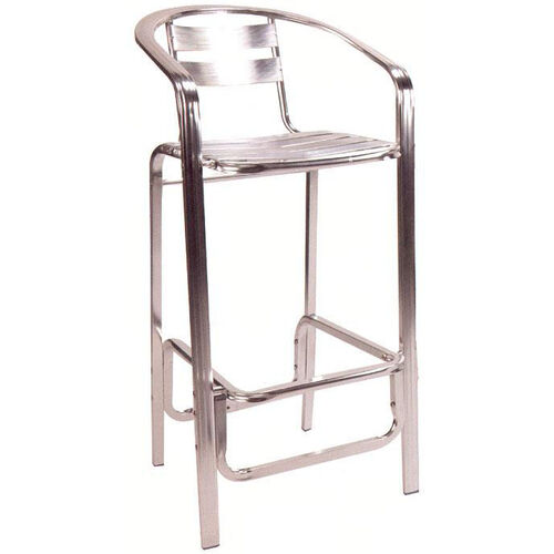 Our Slat Back & Seat Aluminum Barstool is on sale now.