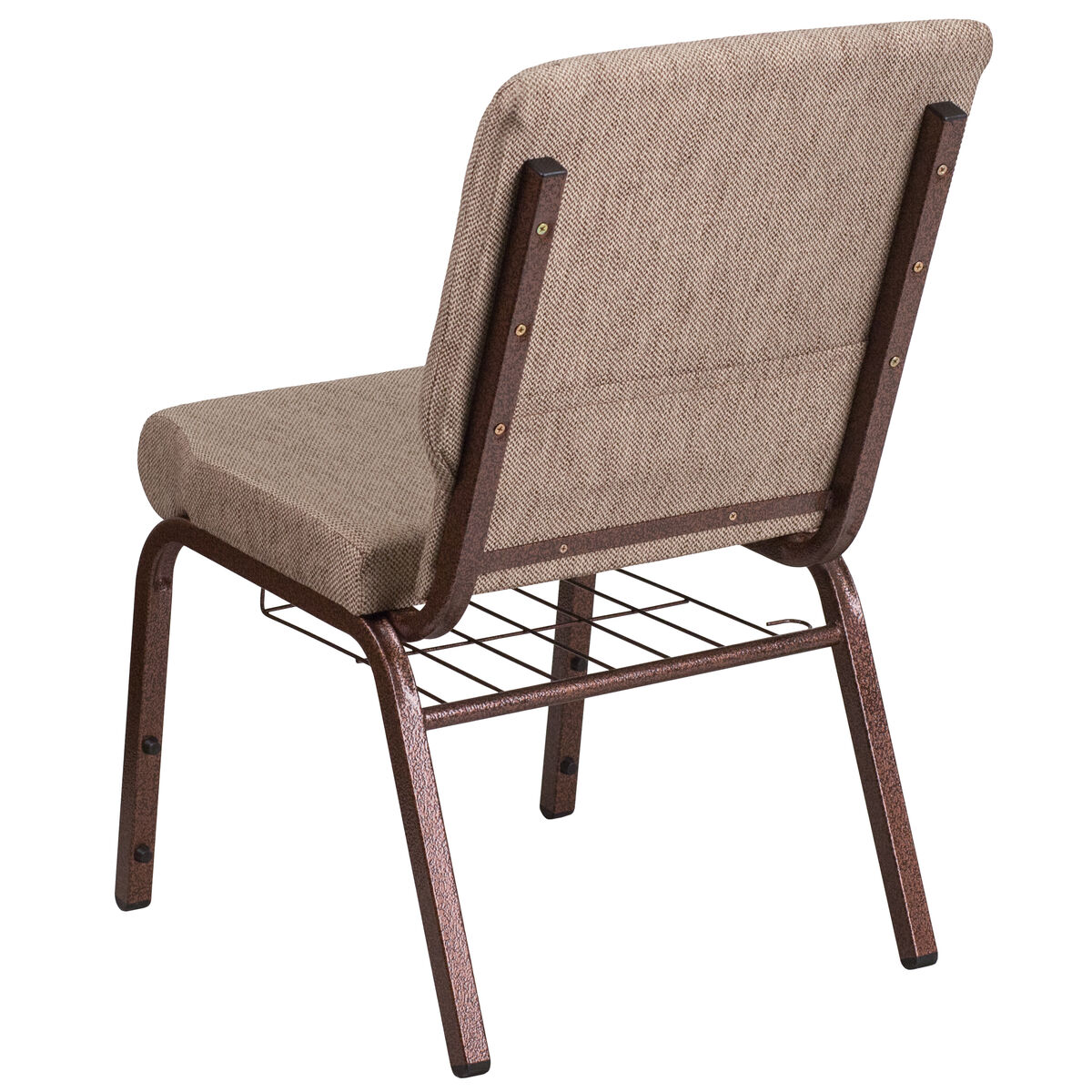 beige fabric church chair fd ch02185 cv bge1 bas gg
