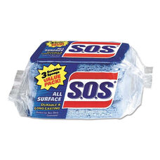 S.O.S.® All Surface Scrubber Sponge - 2 1/2 x 4 1/2 - 0.9