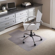 36'' x 48'' Carpet Chair Mat with Lip