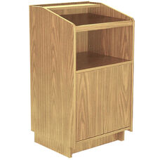 Advantage Oak Wood Speaker's Podium