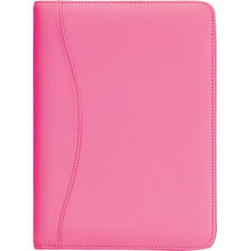 Junior Writing Padfolio - Top Grain Nappa Leather - Wildberry
