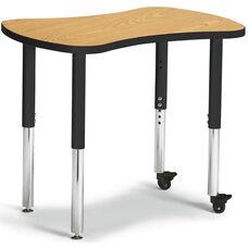 Collaborative Bowtie Table - Oak/Black