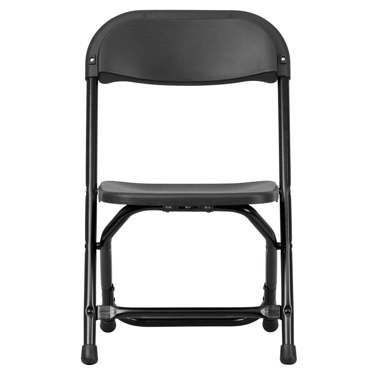 Kids Black Folding Chair Y Kid Bk Gg Churchchairs4less Com