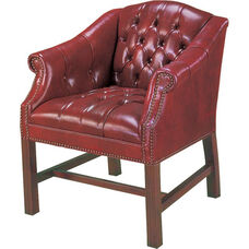 Quick Ship Traditional Series Tufted Guest Chair