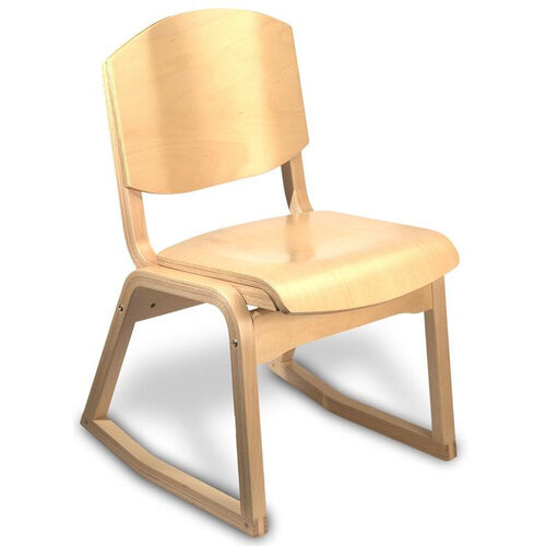 Our Campus 2-Position Armless Guest Chair - Wood Seat is on sale now.