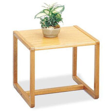Tempe Series End Table with Sled Base