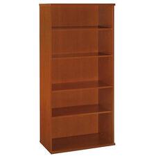 Series C Open Double Bookcase - Auburn Maple