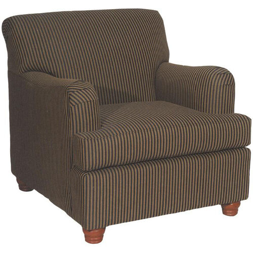 Our 5375 Upholstered Lounge Chair w/ Loose T Cushion & Wood Legs - Grade 1 is on sale now.