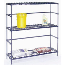 Heavy Duty 3 Shelf Container Rack - 18