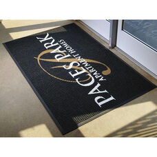 Waterhog Logo Inlay Floor Mat 6' x 8' - Anti Slip