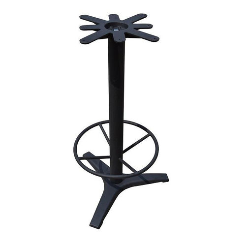 3 Prong Cast Iron Bar Height Table Base with 19