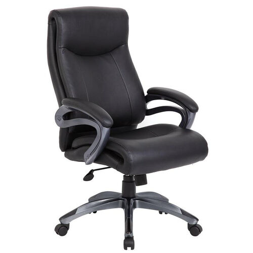 Our Double Layer Executive Chair with Pillow Top and Padded Armrests - Black is on sale now.