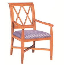 4605 Arm Chair w/ Upholstered Seat - Grade 1
