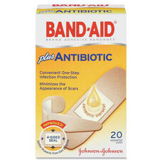 Johnson & Johnson Band-Aid Antibiotic Bandage