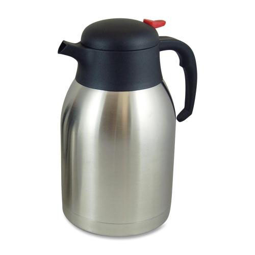 Our Genuine Joe Everyday Vacuum Carafe - 2.0L. - Stainless Steel is on sale now.