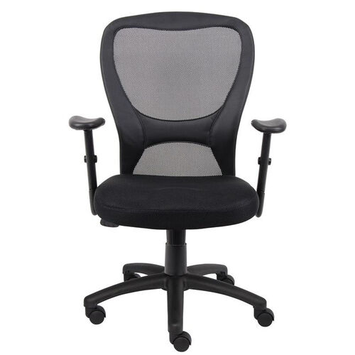 Our Budget Mesh Task Chair with Adjustable Height Armrest - Black is on sale now.