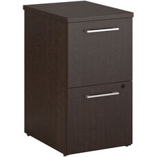 300 Series 2 Drawer File Cabinet - Mocha Cherry