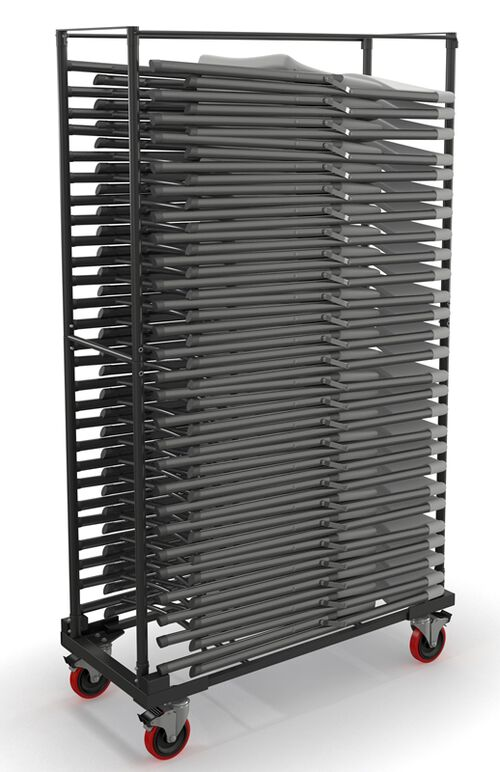 Our Event Series Folding Chair Stack Cart for 5000FC - Black is on sale now.