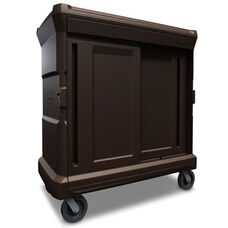 ChuckWagon Food Tray Delivery System - Brown
