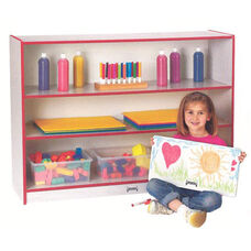 Rainbow Accents Super-Sized Adjustable Bookcase