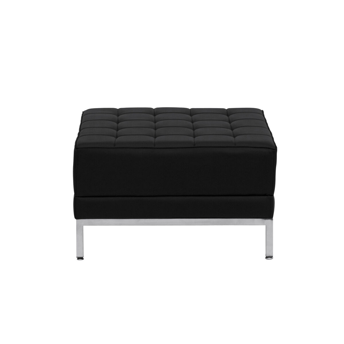 Our Hercules Imagination Series Melrose White Leather Ottoman Is On Now