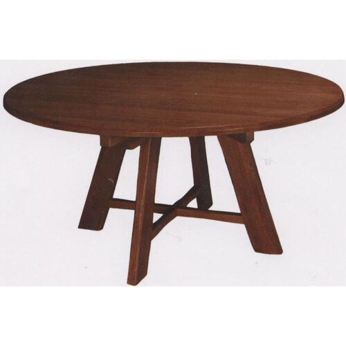 Our 1776 Round Wood Trestle Table with Rustic Styling and Self-Leveling Glides is on sale now.