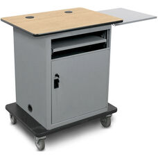 Vizion Instructor Cart Series Height Adjustable Bronze Level All-in-One Teacher