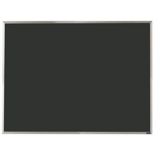 Our Economy Series Black Composition Chalkboard with Aluminum Frame - 36