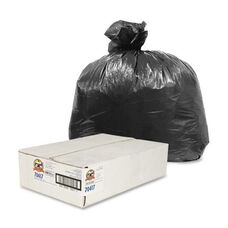 Genuine Joe Can Liners - 7 -10 Gallon - .35 mil - 24
